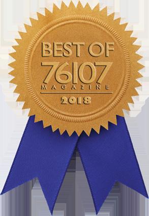 best of 76107 badge 2018