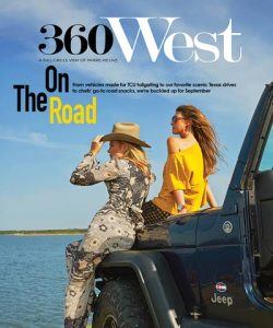 September 2018 360 West Magazine Cover